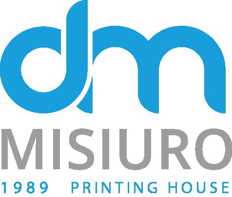 Logo Drukarnia Misiuro Kolor wersja angielska