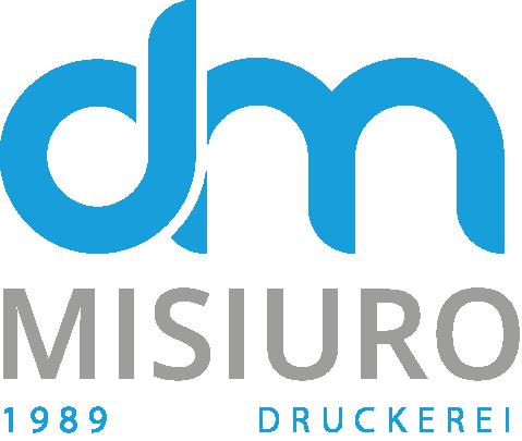 Logo Drukarnia Misiuro Kolor wersja niemiecka