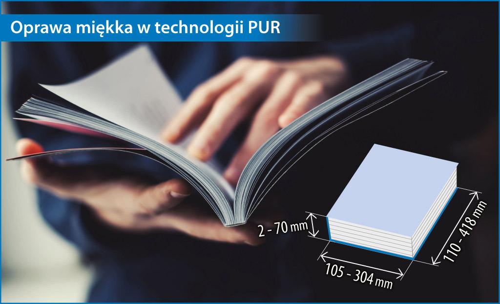 Katalogi klejone technologią PUR